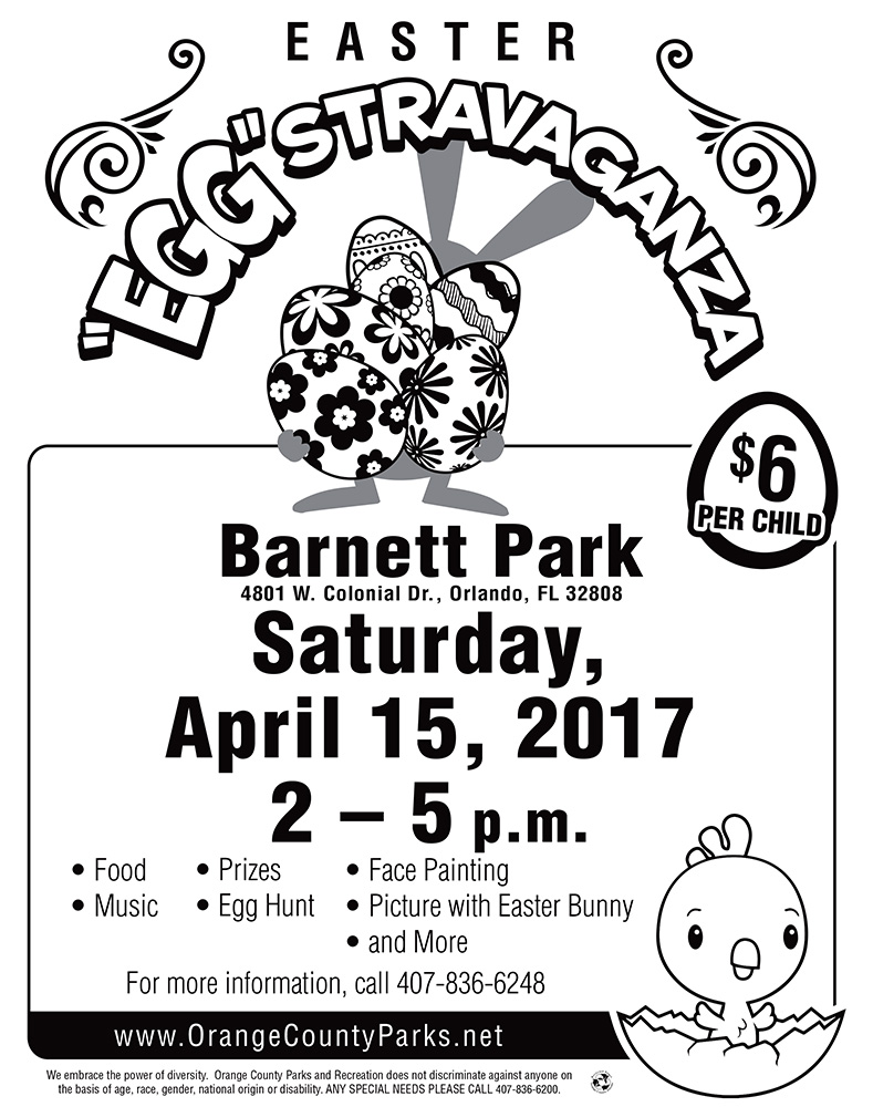 Eggstravganza April 2017 - barnett Park