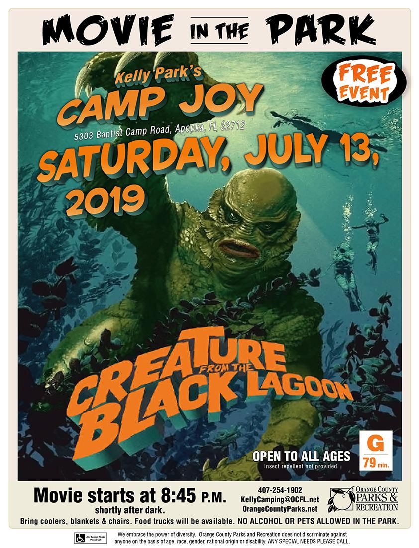 Creature Black Lagoon July 13 2019