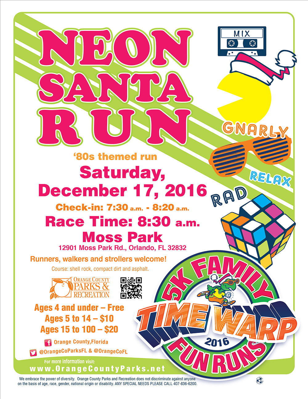 Neon Santa Run