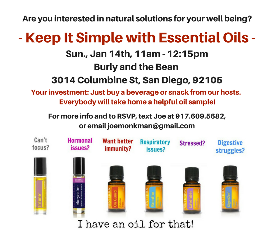 Keep It Simple With Essential Oils