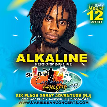 Alkaline at Caribbean Concert 2018