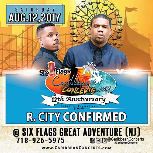 R. CITY CONFIRMED - CARIBBEAN CONCERTS