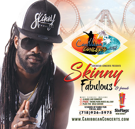 Skinny Fabulous & more - Caribbean Concert at Six Flags 2019