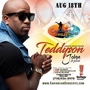 Teddyson John & more - Caribbean Concert at Six Flags 2019