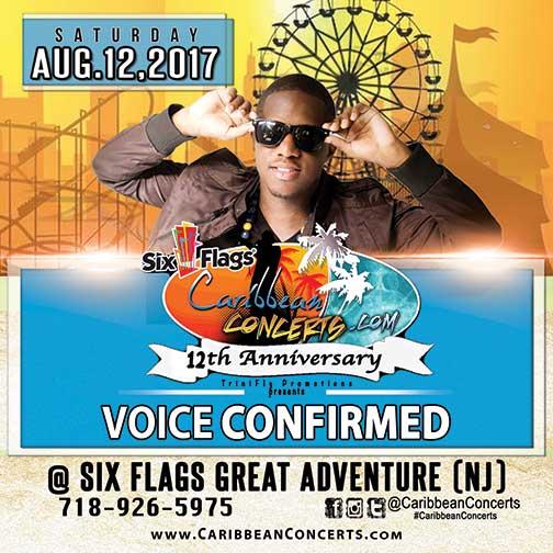 VOICE  CONFIRMED - Caribbean Concert 2017