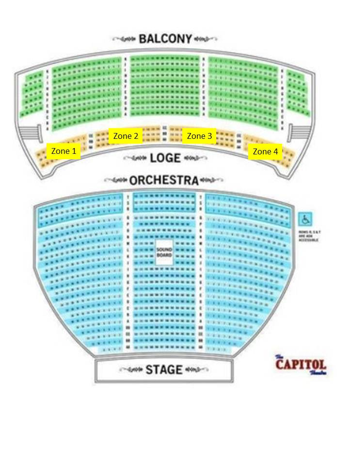 Capitol Theater Port Chester Ny Seating Chart