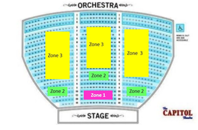 capitol theater port chester seating chart: Capitol theater port chester seating chart capitol theatre port