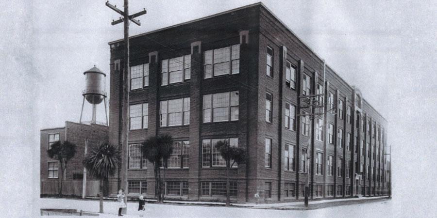 Mazda Light Bulb Factory Historic Image