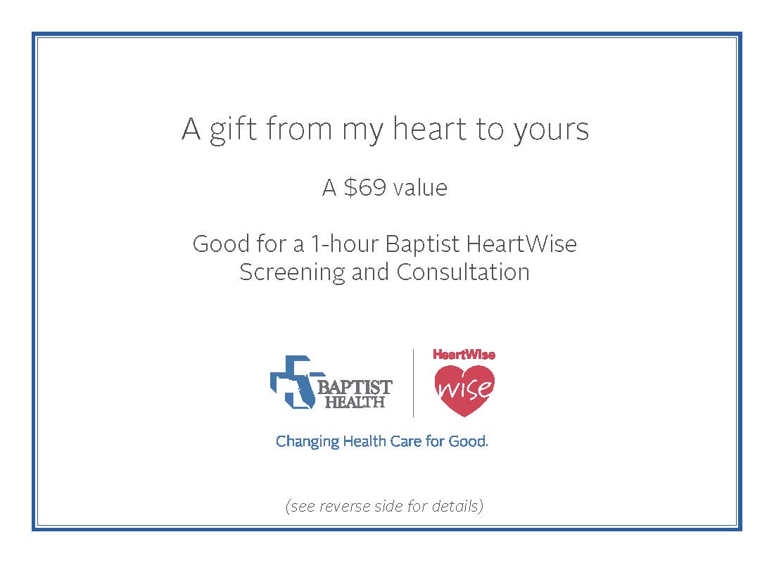 HeartWise Gift Certificate