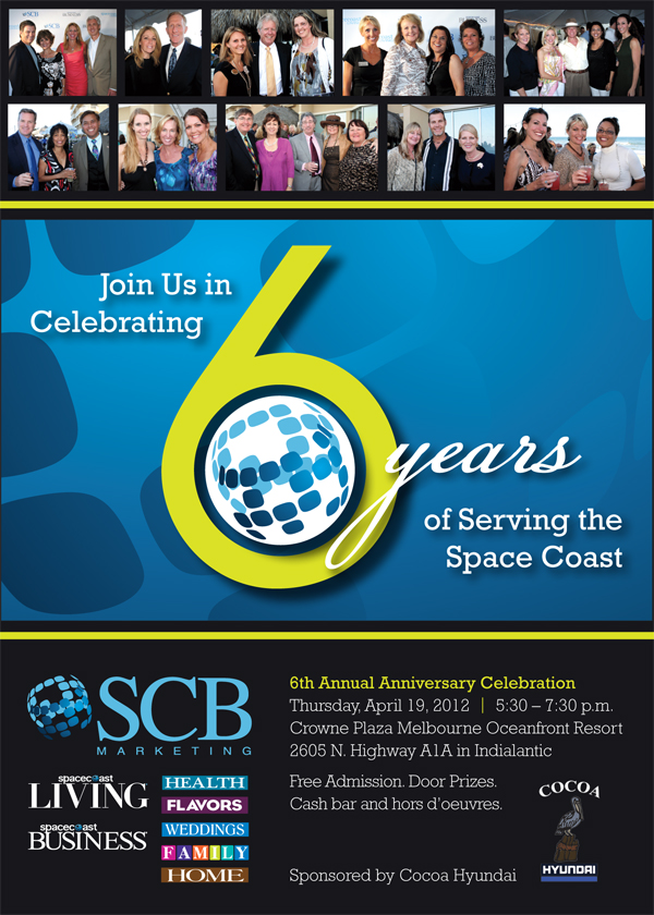 SCB Marketing's 6th Anniversary Celebration
