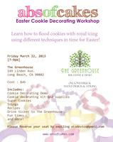Easter Cookie Decorating Workshop   with Abs of Cakes