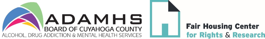 ADAMHS And Fair Housing Center Logos