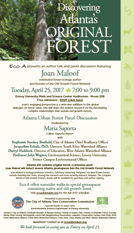 Flyer for Joan Maloof event vers.321