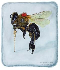 Scott Trevelyan, Plight of the Humble Honeybee, 2011.