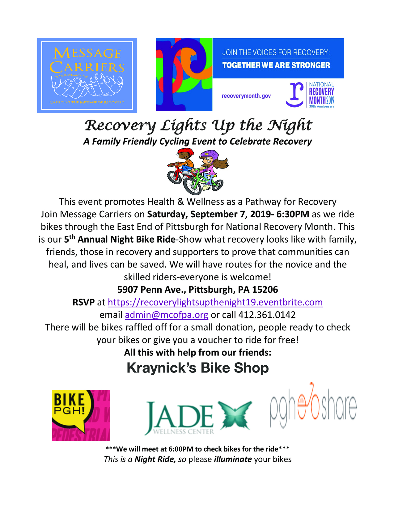 Recovery Lights Up The Night 2019