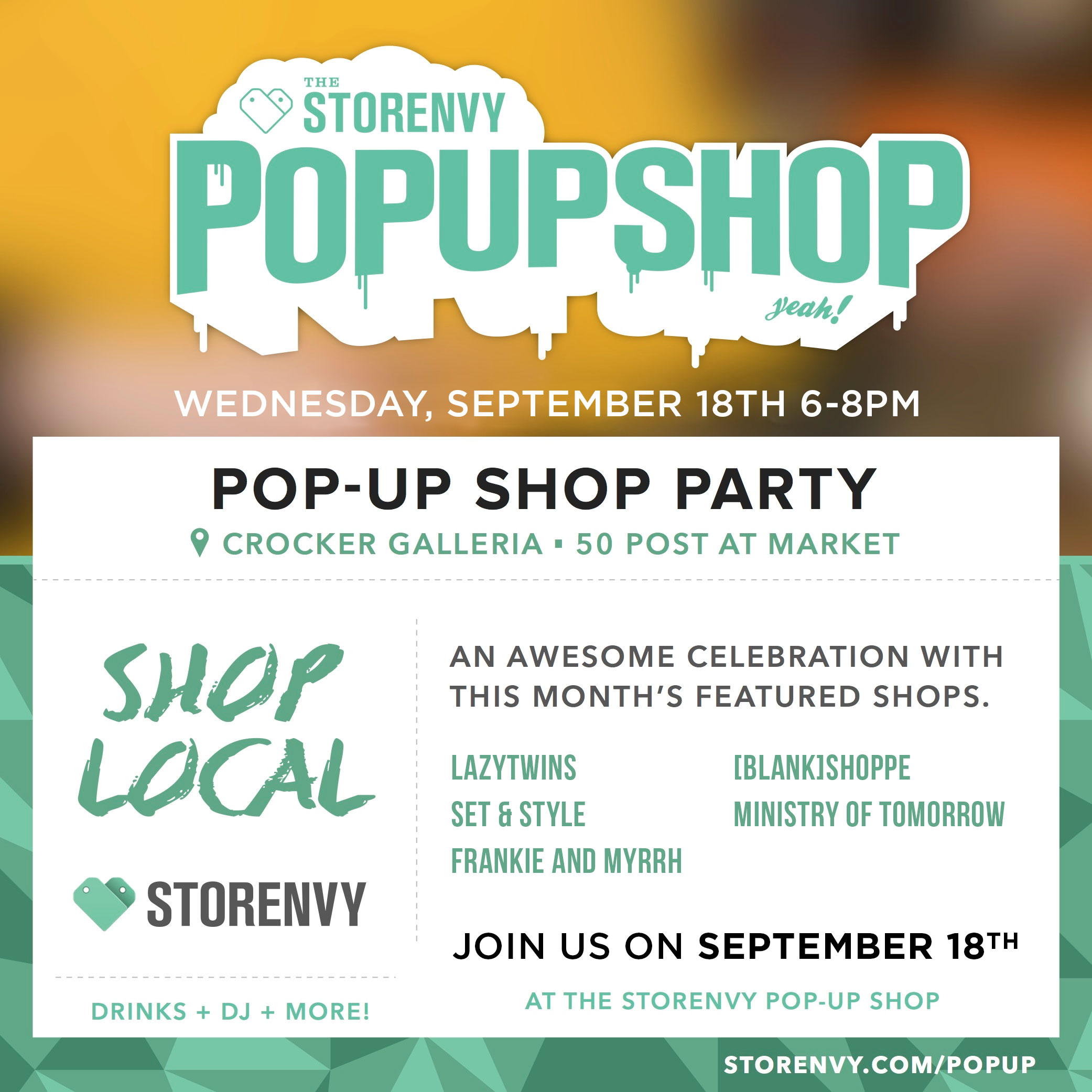 Storenvy Pop Up Party September