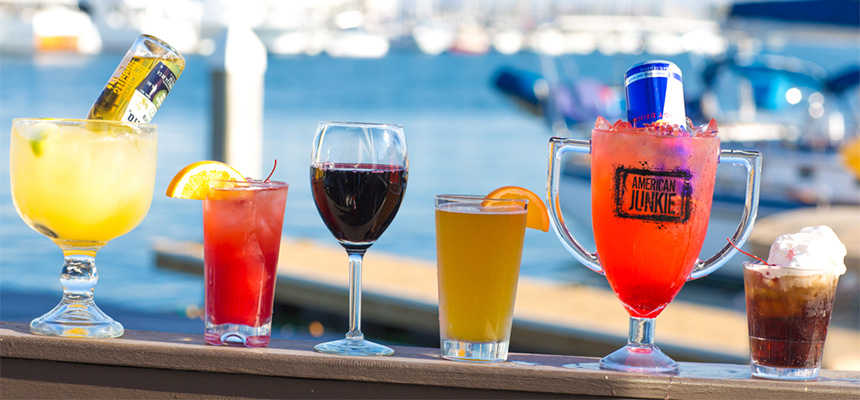American Junkie Newport Beach | Sunday Day Party Sunset