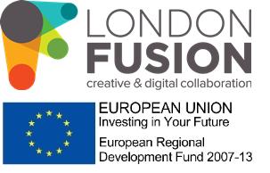 London Fusion and EU Logo