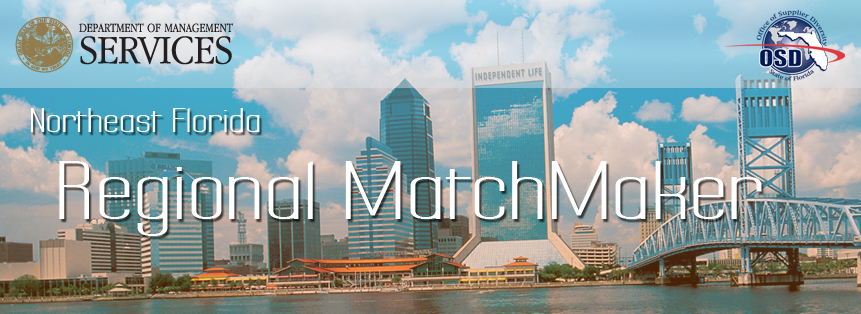 Graphic: Northeast FL Regional MatchMaker in Jacksonville