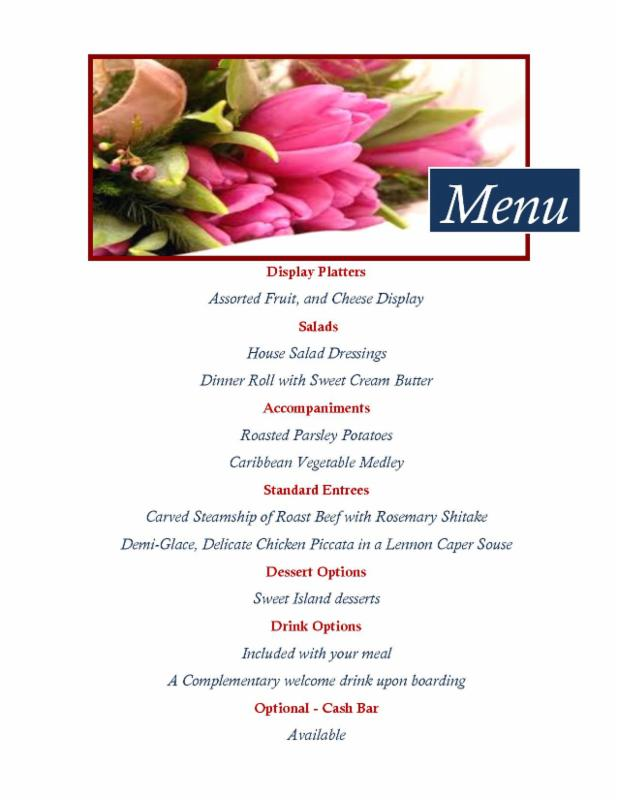 mother day 2016 menu