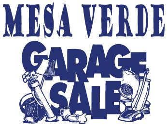 Mesa Verde Garage Sale 2018
