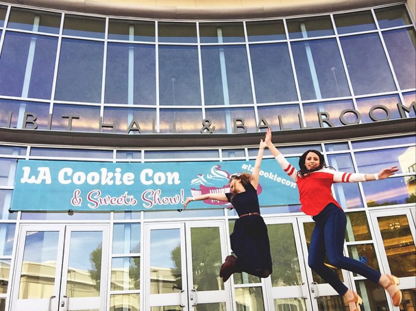 LA Cookie Con and Sweets Show Rocks