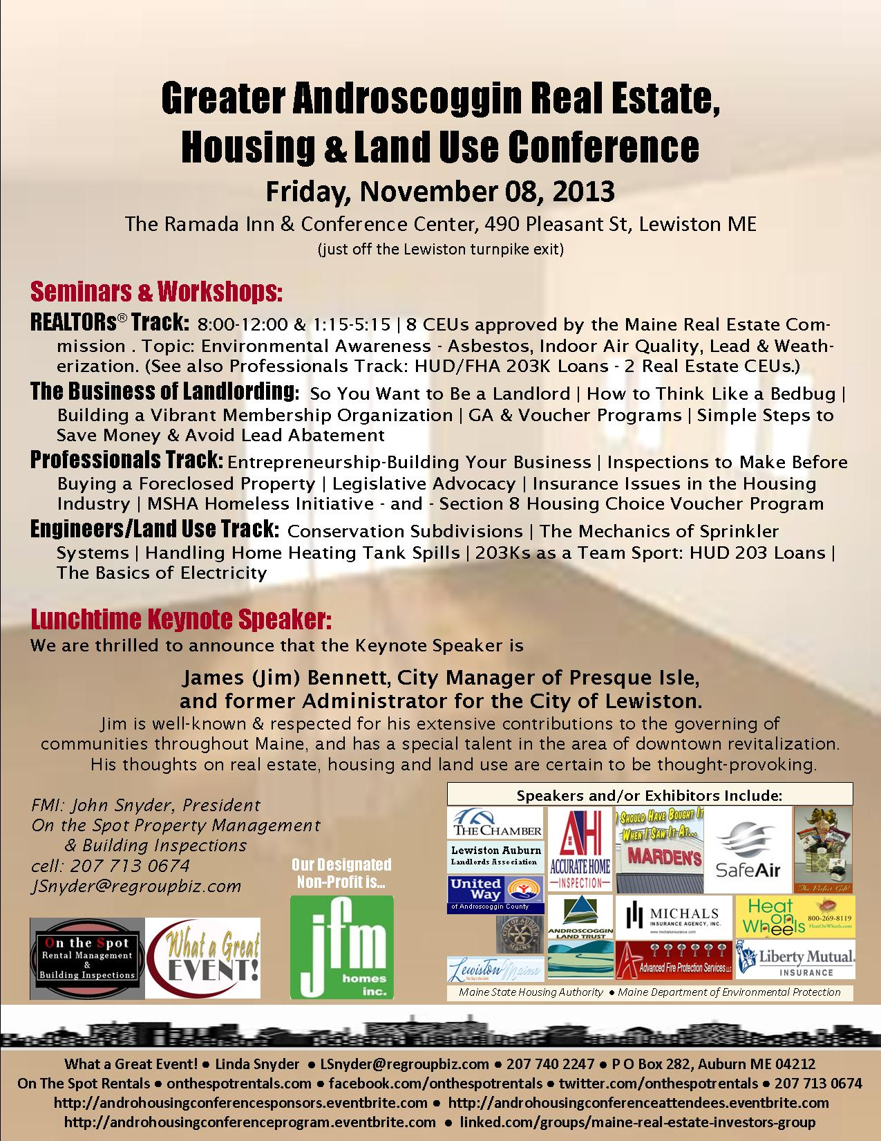 Andro Real Estate, Housing & Land Use Conference