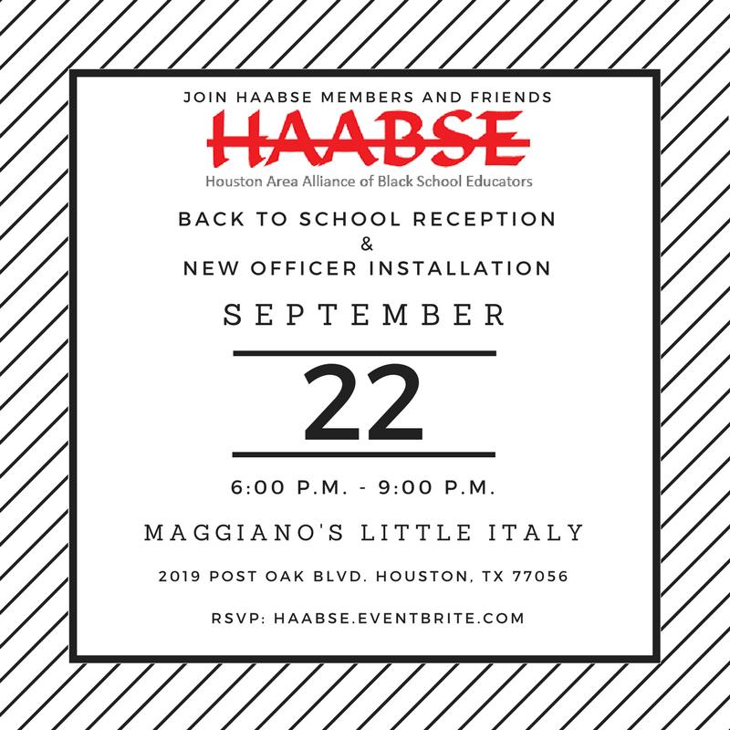 HAABSE 2017 Reception Flyer