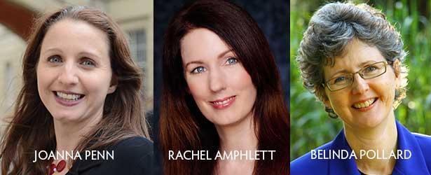 Joanna Penn, Rachel Amphlett, Belinda Pollard