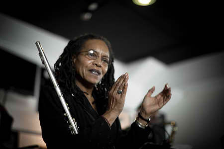 Barbara Hunter, flutist