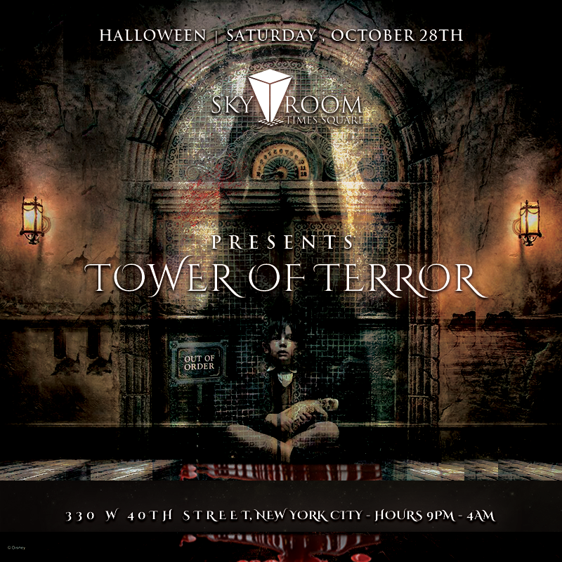 Sky Room Presents Tower of Terror - Halloween 2017 Tickets, Sat ...