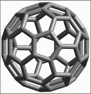 Buckminsterfullerene is a spherical fullerene molecule
