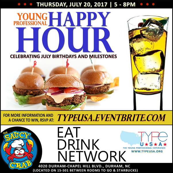 7/20 Young Professionals Happy Hour