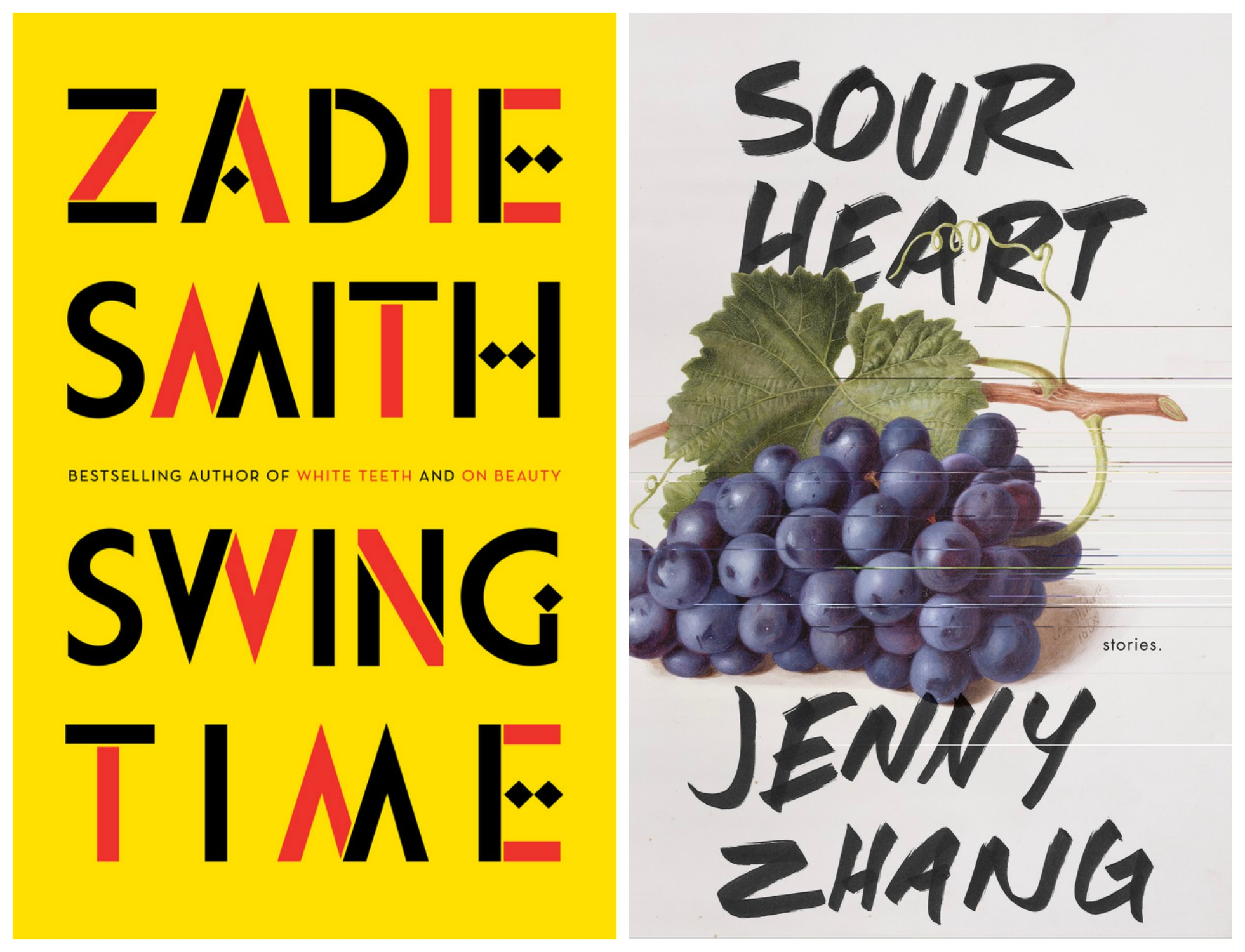 Swing Time + Sour Heart Book Covers