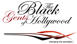 The Black Gents of Hollywood Logo