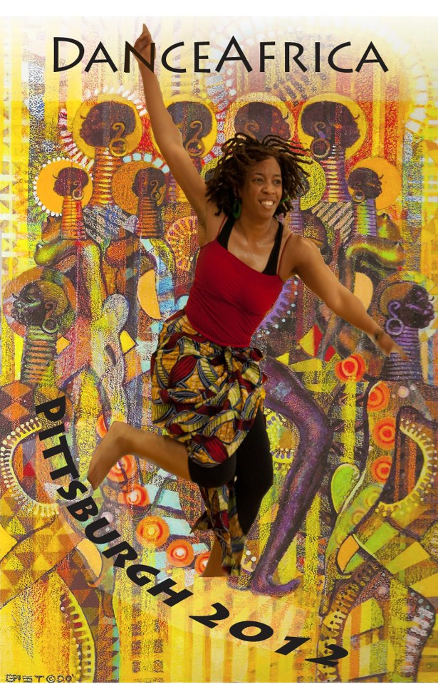 Dance Africa Poster