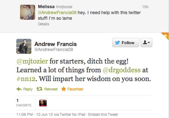 Netroots Tweet 1