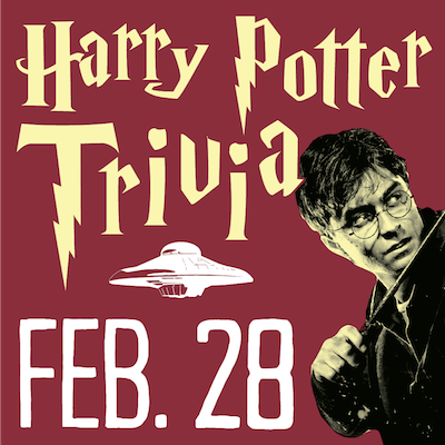 Harry Potter Trivia Flying Saucer February 28 2019