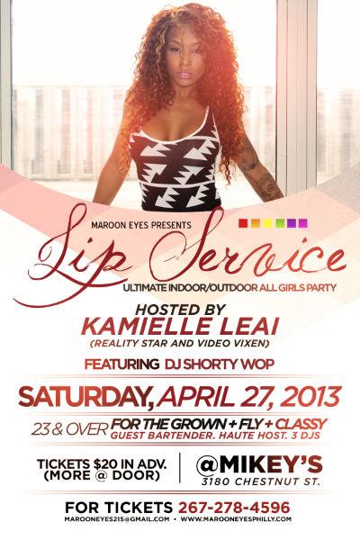 Flyer w/ Kamielle Leai