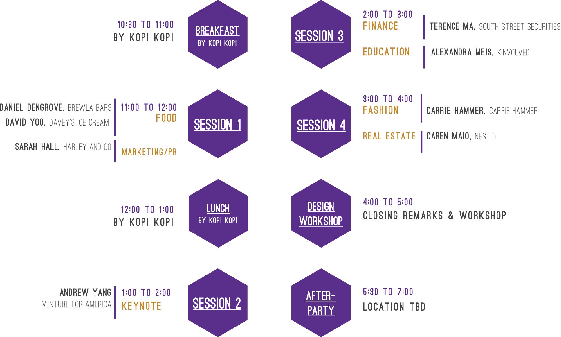 Insight@NYU Schedule