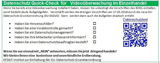 Datenschutz Quick-Check