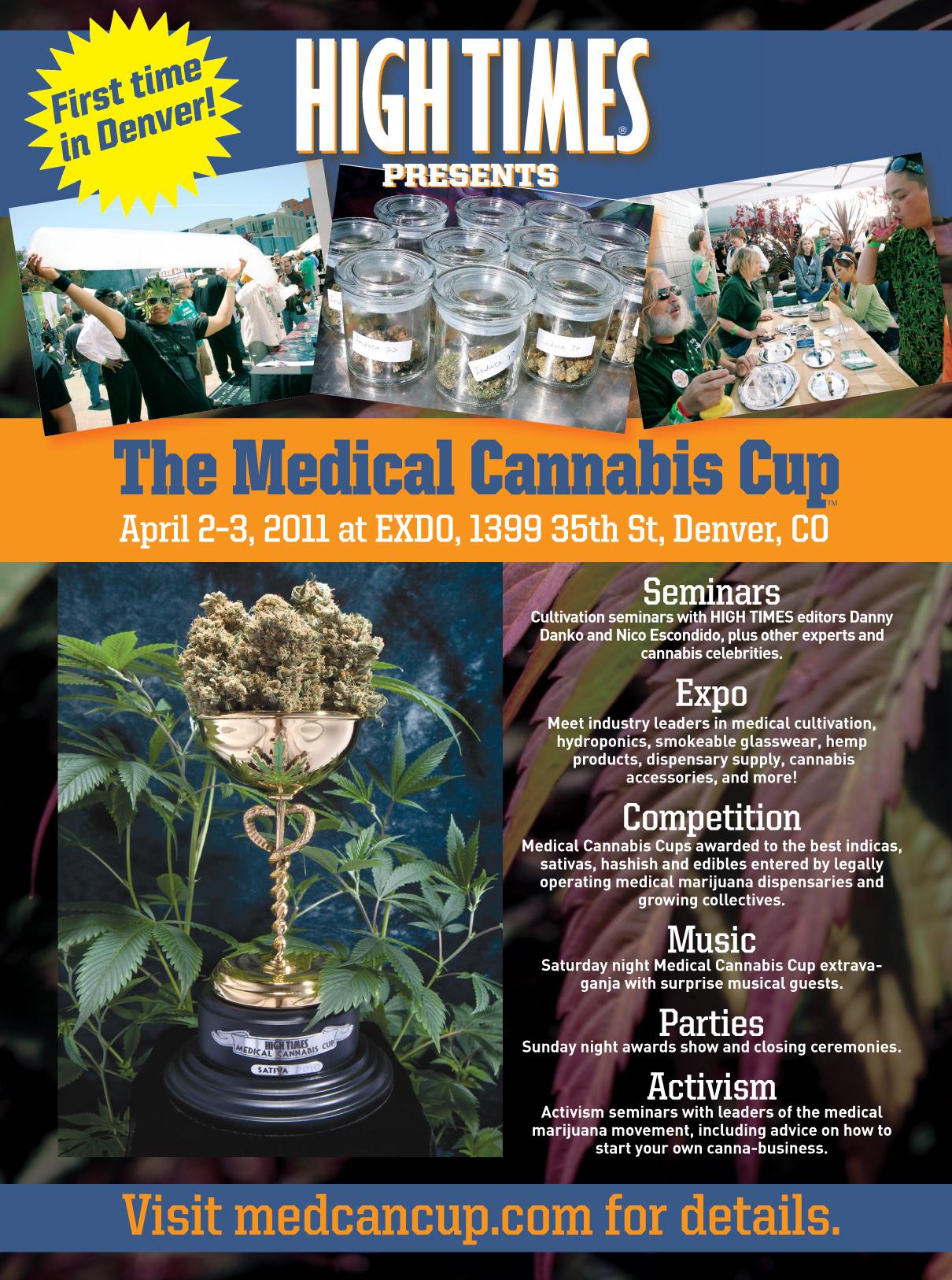 Denver Medical Cannabis Cup Ad