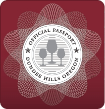 Dundee Hills Passport Seal