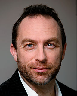Jimmy Wales, founder of wikiepedia