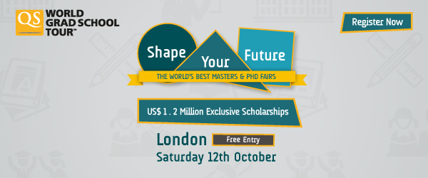 The World's Best Masters and Phd Fair - London