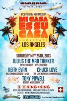 5/25 WCS Events pres. MI CASA HOLIDAY w / JULIUS THE MAD THINKER...