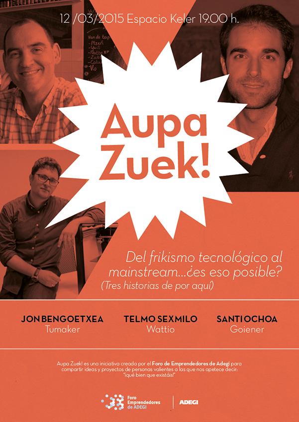 Cartel #AupaZuek
