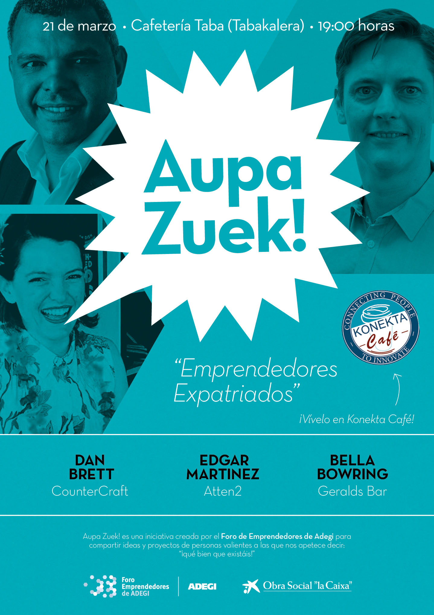 Aupa Zuek: Emprendedores ExPatriados