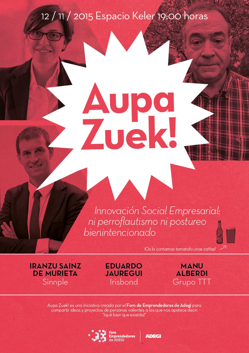 Aupa Zuek Innovacion Social Empresarial