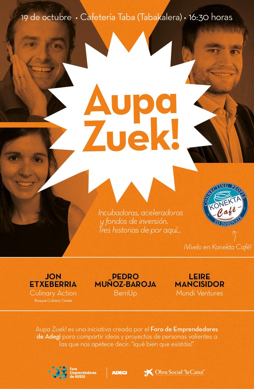 Aupa Zuek - Konekta Café